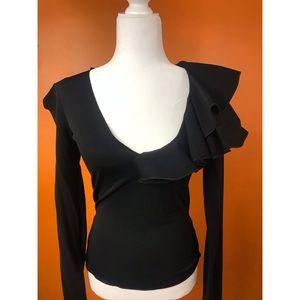 ARMANI COLLEZIONI: black blouse